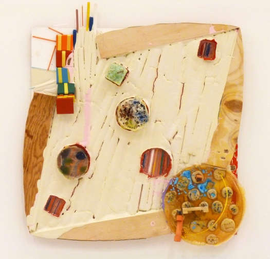 """Childhood Explorations"" Mixed Media on Panel, 24 x 24 in, 2012"
